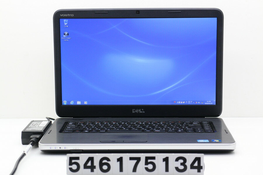 DELL Vostro 1550 Core i5 2450M 2.5GHz/4GB/320GB/Multi/15.6W/FWXGA(1366x768)/Win7【中古】【20180123】