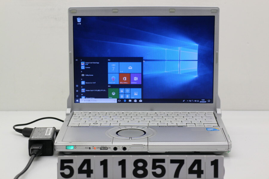 Panasonic CF-N9KW5MDS Core i5 520M 2.4GHz/4GB/128GB(SSD)/12.1W/WXGA(1280x800)/Win10 ファン異音あり【中古】【20180209】