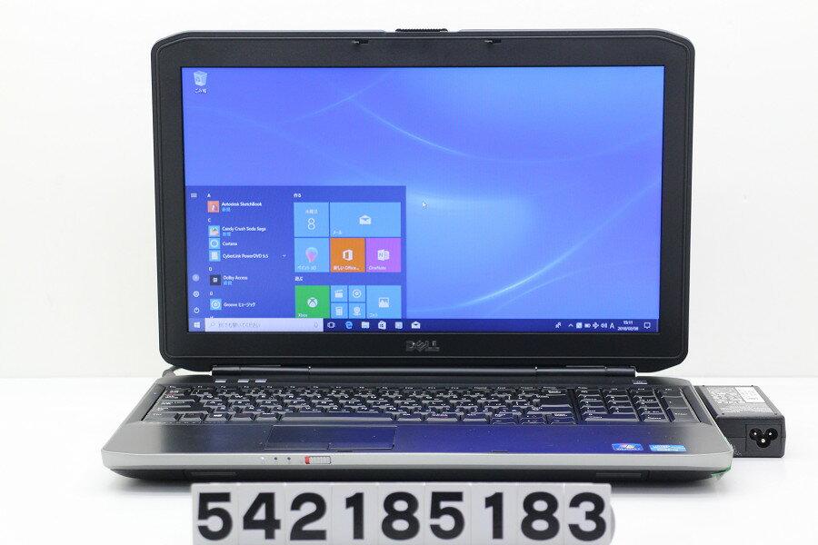 DELL Latitude E5530 Core i5 3340M 2.7GHz/4GB/320GB/Multi/15.6W/FWXGA(1366x768)/Win10【中古】【20180209】