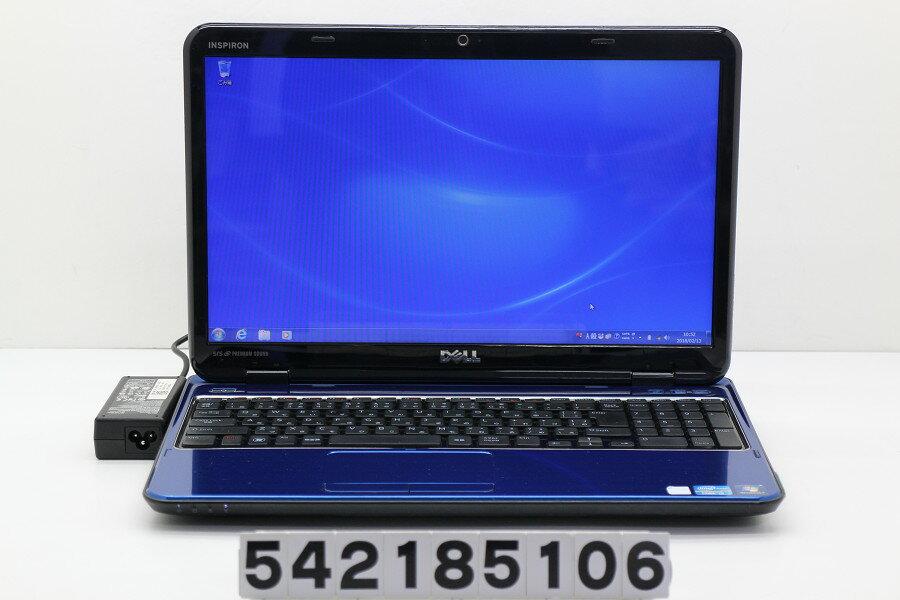 DELL Inspiron N5110 Core i5 2410M 2.3GHz/4GB/640GB/Multi/15.6W/FWXGA(1366x768)/Win7【中古】【20180214】