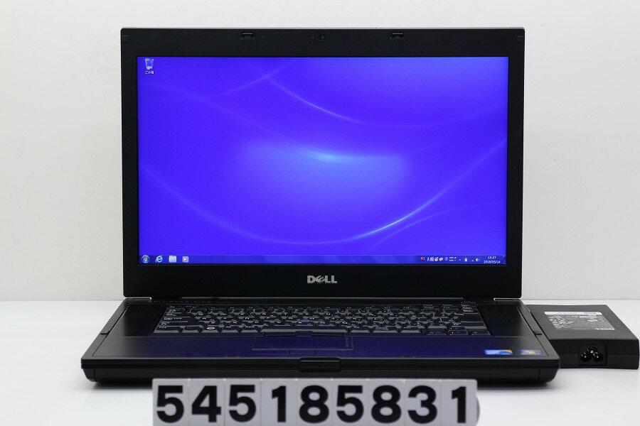 DELL Precision M4500 Core i7 Q840 1.87GHz/8GB/256GB(SSD)/Multi/15.6W/FHD(1920x1080)/Win7/Quadro FX 1800M【中古】【20180515】