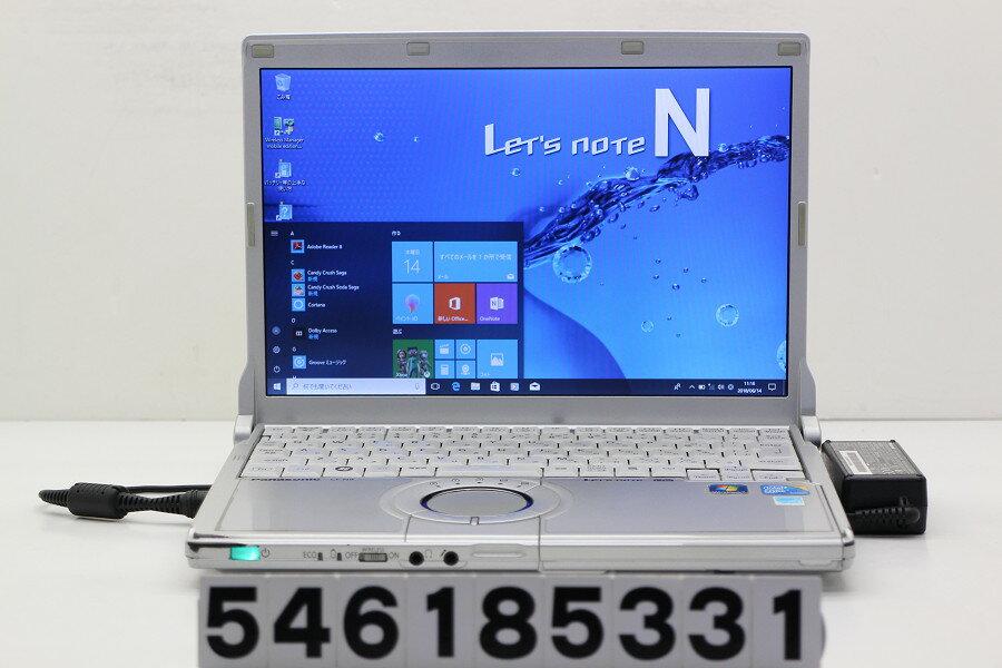 Panasonic CF-N9KW5MDS Core i5 520M 2.4GHz/4GB/128GB(SSD)/12.1W/WXGA(1280x800)/Win10【中古】【20180615】