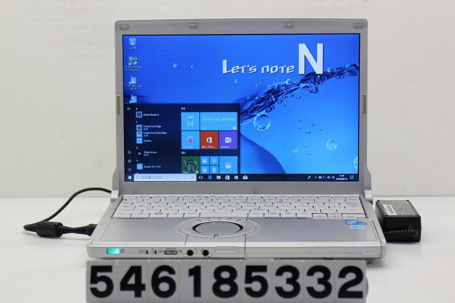 Panasonic CF-N9KW5MDS Core i5 520M 2.4GHz/4GB/128GB(SSD)/12.1W/WXGA(1280x800)/Win10 クリック難あり【中古】【20180615】