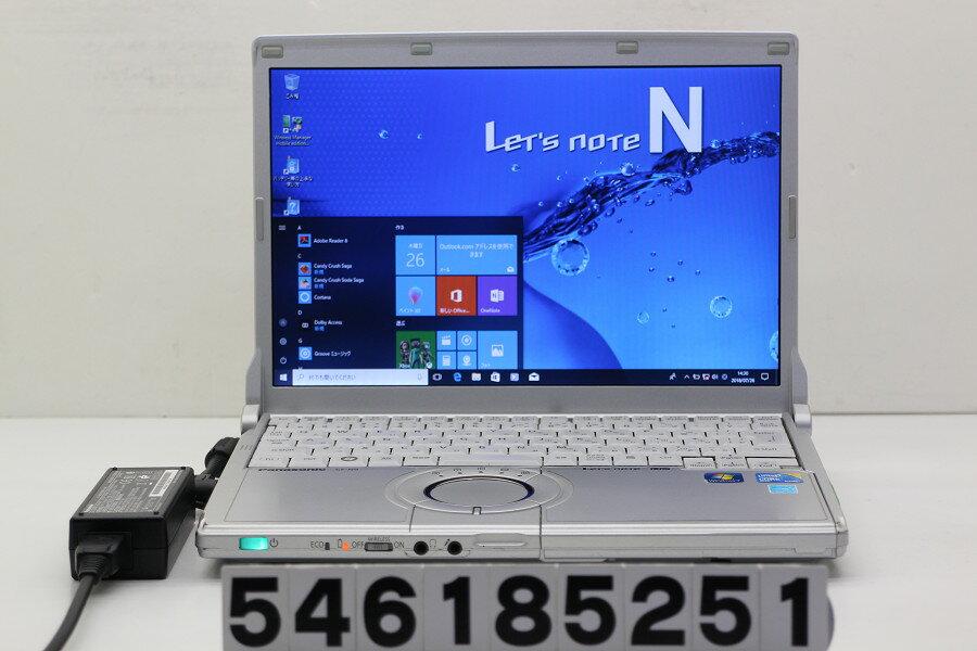 Panasonic CF-N9KW5MDS Core i5 520M 2.4GHz/4GB/128GB(SSD)/12.1W/WXGA(1280x800)/Win10 無線LAN不良【中古】【20180731】