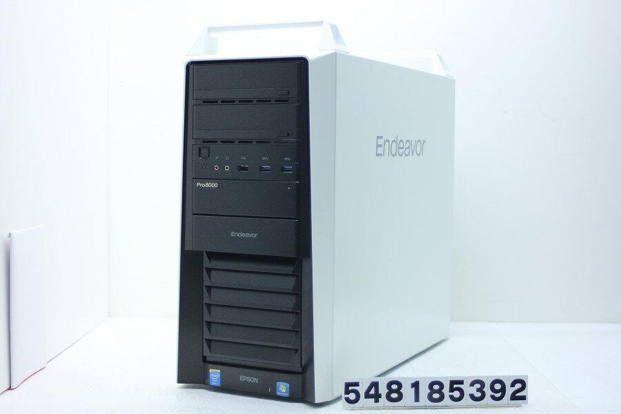EPSON Endeavor Pro8000-H Core i7 4930K 3.4GHz/32GB/256GB(SSD)+2TB/Blu-ray/Win10/GeForce GTX Titan Black【中古】【20180828】