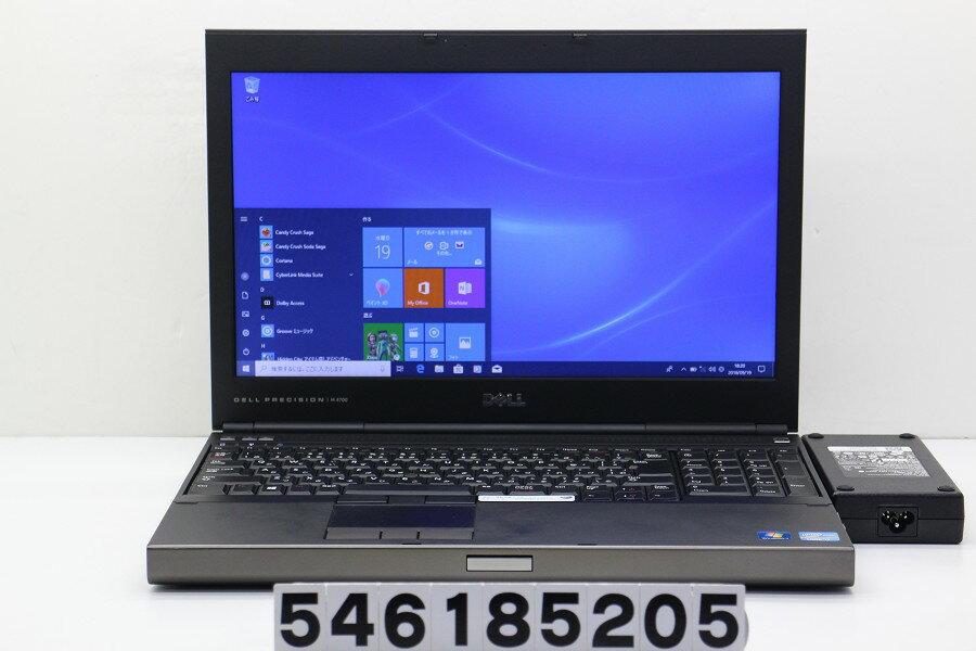 DELL Precision M4700 Core i7 3840QM 2.8GHz/16GB/500GB/Multi/15.6W/WXGA(1366x768)/Win10/Quadro K1000M【中古】【20180925】