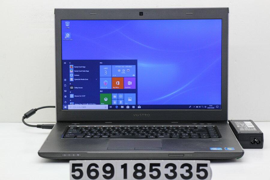 DELL Vostro 3560 Core i5 3230M 2.6GHz/4GB/500GB/Multi/15.6W/FWXGA(1366x768)/Win10 バッテリーロックレバー難あり【中古】【20181004】