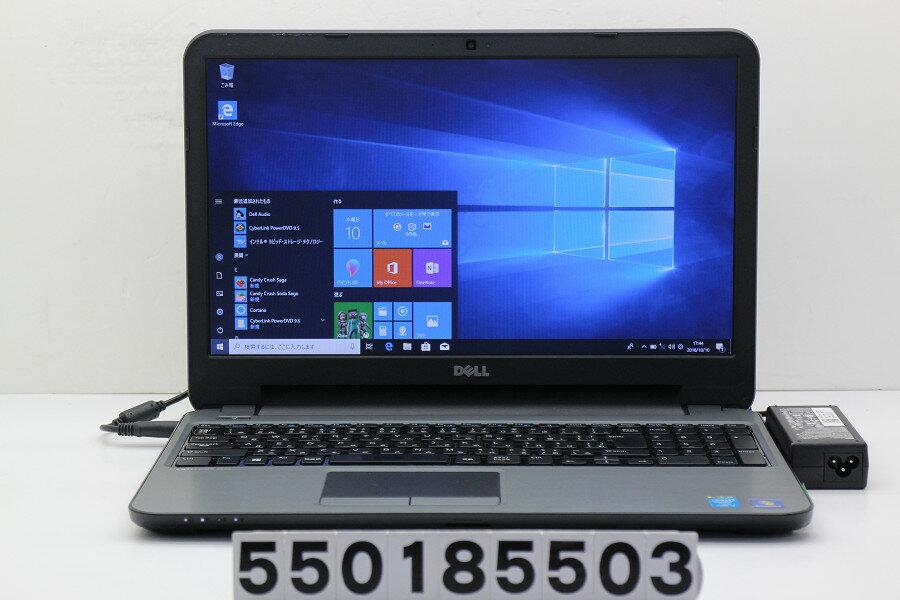 DELL Latitude 3540 Core i3 4010U 1.7GHz/4GB/500GB/Multi/15.6W/FWXGA(1366x768)/Win10【中古】【20181011】