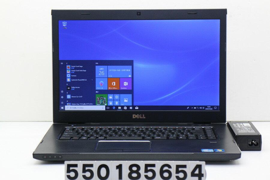 DELL Vostro 3550 Core i5 2450M 2.5GHz/4GB/320GB/Multi/15.6W/FWXGA(1366x768)/Win10 バッテリー難あり【中古】【20181027】