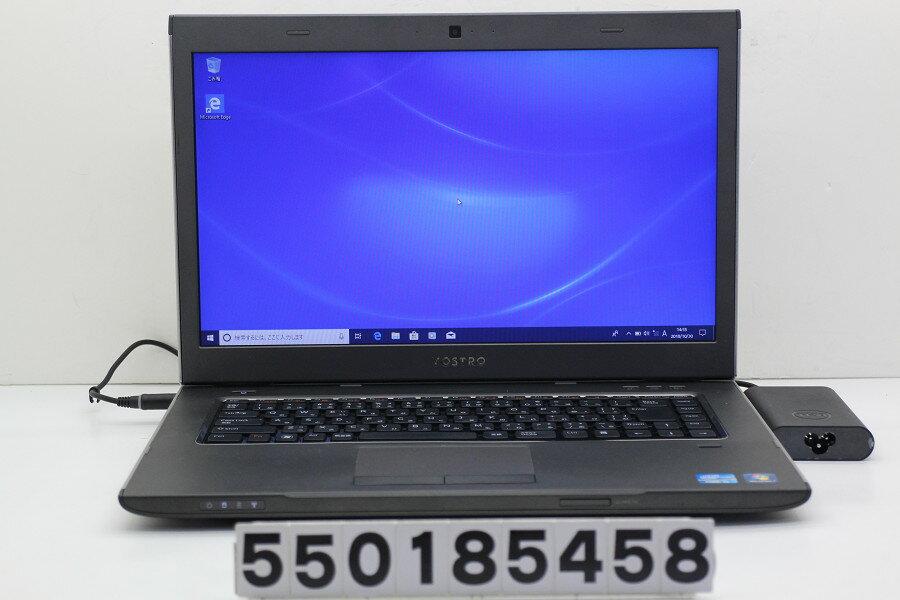 DELL Vostro 3560 Core i5 3210M 2.5GHz/4GB/320GB/Multi/15.6W/FWXGA(1366x768)/Win10【中古】【20181031】
