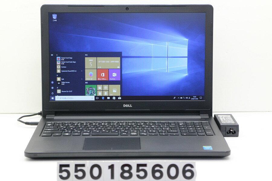 DELL Vostro 3558 Core i3 4005U 1.7GHz/4GB/500GB/Multi/15.6W/FWXGA(1366x768)/Win10【中古】【20181106】