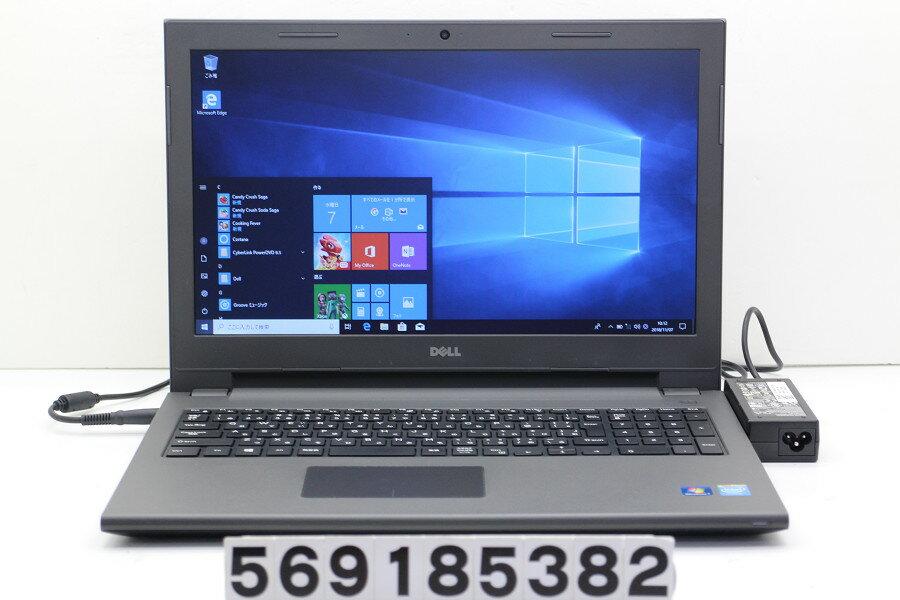 DELL Vostro 3546 Celeron 2957U 1.4GHz/4GB/500GB/Multi/15.6W/FWXGA(1366x768)/Win10【中古】【20181108】