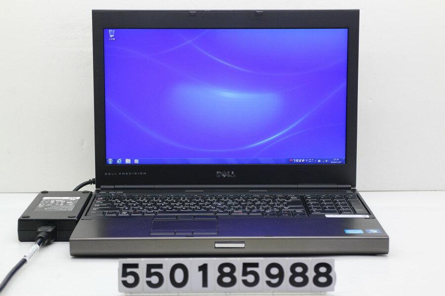 DELL Precision M4600 Core i5 2540M 2.6GHz/4GB/500GB/Multi/15.6W/FHD(1920x1080)/Win7/Quadro 1000M USB1個不良【中古】【20181108】