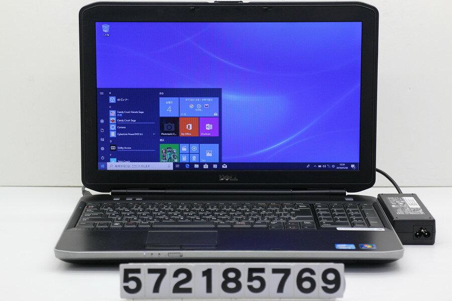 DELL Latitude E5530 Core i5 3210M 2.5GHz/4GB/128GB(SSD)/DVD/15.6W/FWXGA(1366x768)/Win10【中古】【20190105】