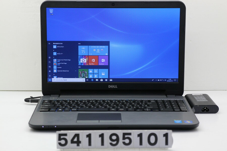 DELL Latitude 3540 Core i3 4005U 1.7GHz/4GB/128GB(SSD)/Multi/15.6W/FWXGA(1366x768)/Win10【中古】【20190116】