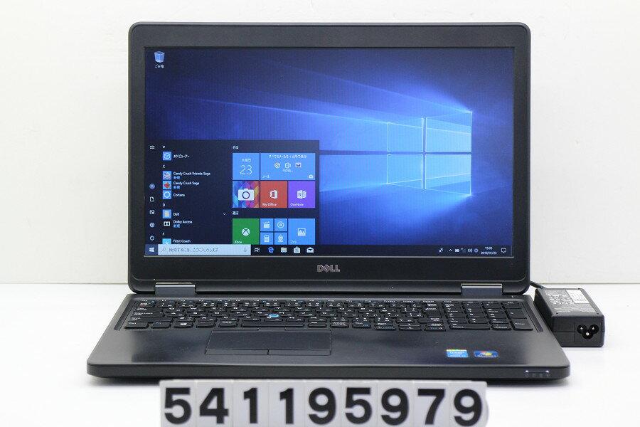 DELL Latitude E5550 Core i5 5300U 2.3GHz/4GB/500GB/15.6W/FWXGA(1366x768)/Win10 バッテリー膨らみ【中古】【20190124】