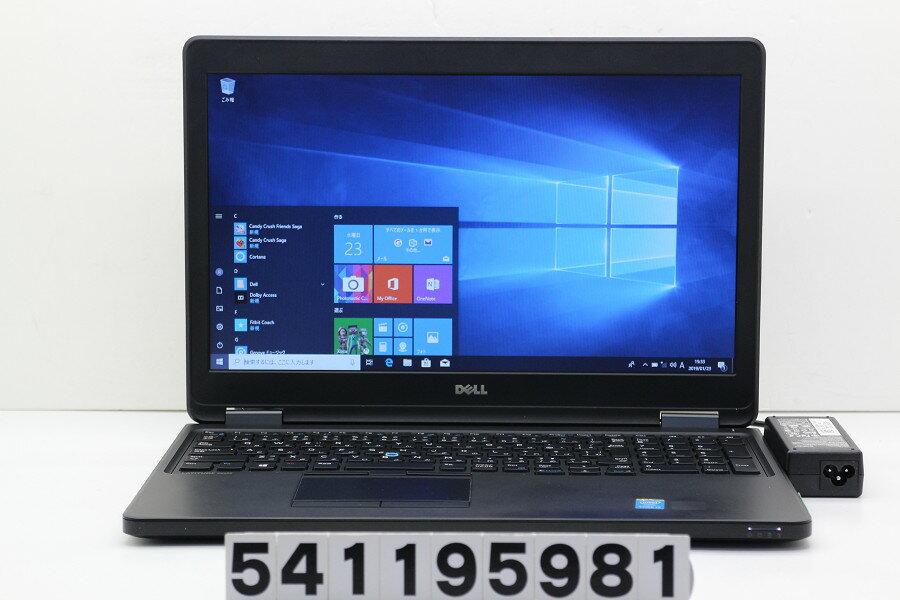 DELL Latitude E5550 Core i5 5300U 2.3GHz/4GB/256GB(SSD)/15.6W/FWXGA(1366x768)/Win10【中古】【20190124】