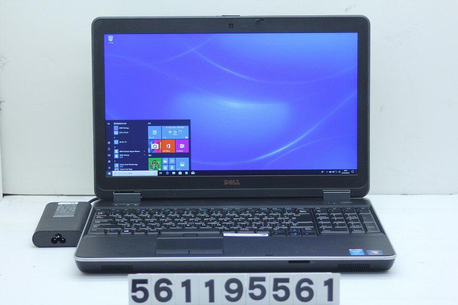 DELL Latitude E6540 Core i5 4310M 2.7GHz/8GB/256GB(SSD)/Multi/15.6W/FHD(1920x1080)/Win10/Radeon HD 8790M【中古】【20190205】