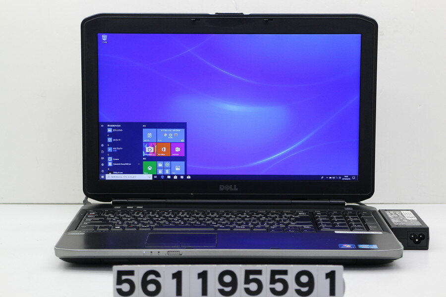 DELL Latitude E5530 Core i5 3340M 2.7GHz/4GB/256GB(SSD)/DVD/15.6W/FHD(1920x1080)/Win10【中古】【20190206】