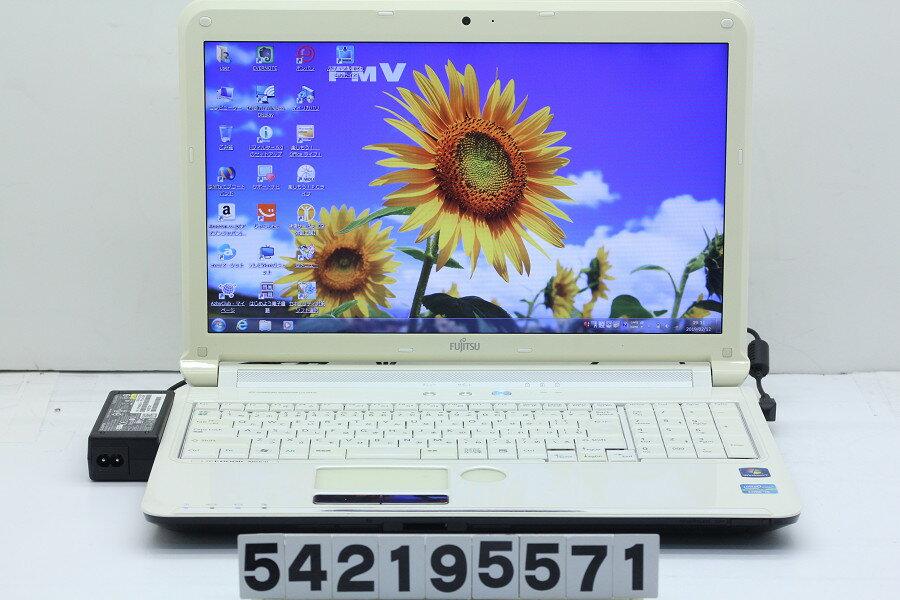 富士通 LIFEBOOK AH56/D Core i5 2520M 2.5GHz/8GB/750GB/Blu-ray/15.6W/FWXGA(1366x768)/Win7【中古】【20190214】
