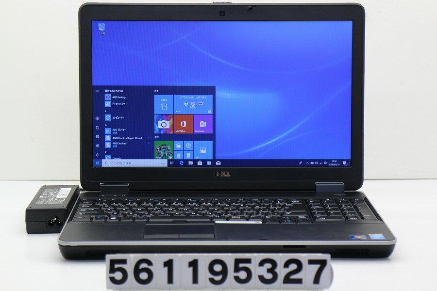 DELL Latitude E6540 Core i5 4300M 2.6GHz/8GB/256GB(SSD)/Multi/15.6W/FWXGA(1366x768)/Win10 無線LAN難あり【中古】【20190214】