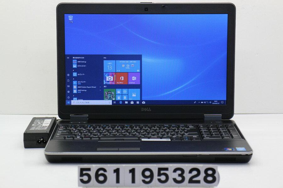 DELL Latitude E6540 Core i5 4300M 2.6GHz/8GB/256GB(SSD)/Multi/15.6W/FWXGA(1366x768)/Win10/Radeon HD 8790M【中古】【20190214】