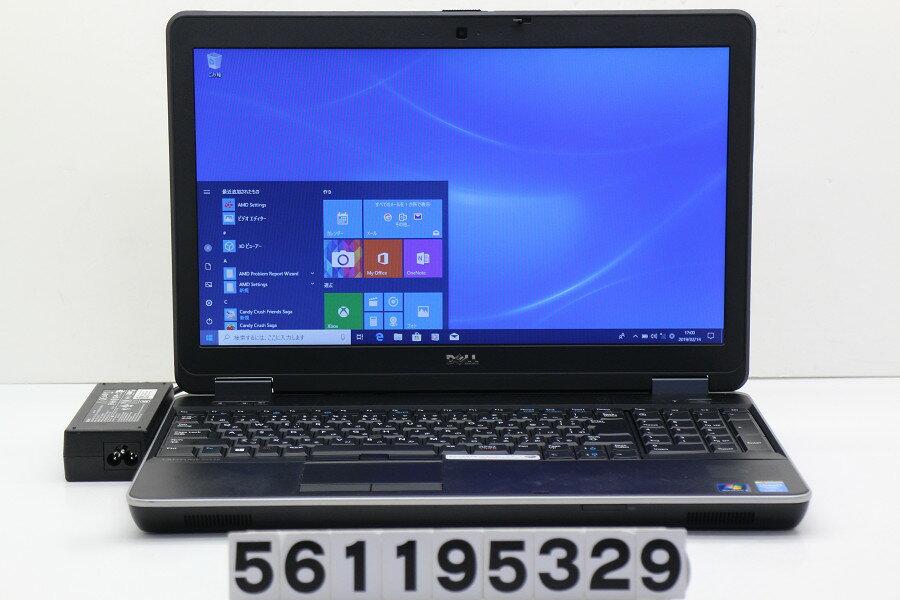 DELL Latitude E6540 Core i5 4300M 2.6GHz/8GB/256GB(SSD)/Multi/15.6W/FWXGA(1366x768)/Win10/Radeon HD 8790M【中古】【20190215】