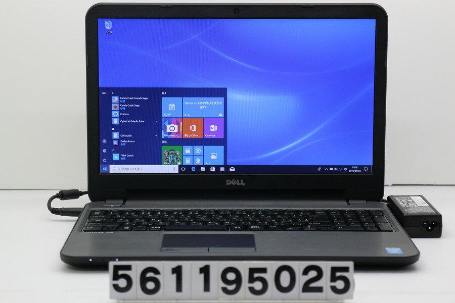 DELL Latitude 3540 Core i3 4005U 1.7GHz/4GB/256GB(SSD)/Multi/15.6W/FWXGA(1366x768)/Win10【中古】【20190305】