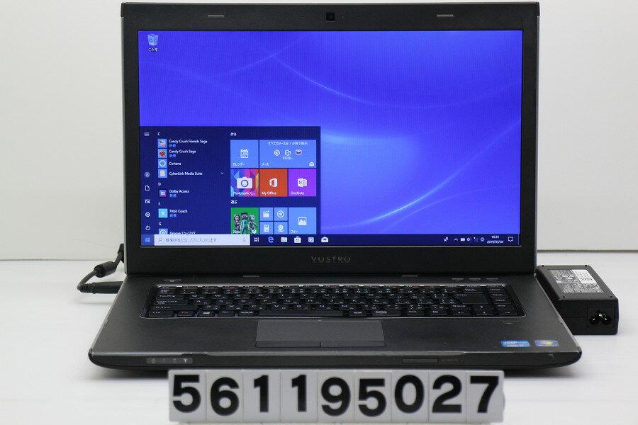 DELL Vostro 3560 Core i5 3210M 2.5GHz/4GB/256GB(SSD)/Multi/15.6W/FWXGA(1366x768)/Win10 光学開閉及びSDスロット不良【中古】【20190305】