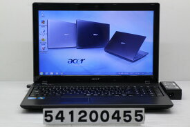 acer Aspire 5742-F52D/K Core i5 M480 2.67GHz/4GB/320GB/Multi/15.6W/FWXGA(1366x768)/Win7 スピーカー難あり【中古】【20200124】