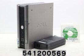 DELL OptiPlex 755 USFF Core2Duo E8400 3GHz/2GB/160GB/DVD/RS232C パラレル/XP【中古】【20200207】