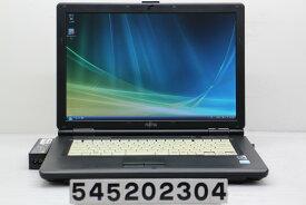 富士通 FMV-A6270 Celeron 575 2GHz/2GB/80GB/Combo/15.4W/WXGA(1280x800)/Vista【中古】【20200521】