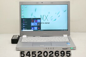 Panasonic CF-MX3L15CS Core i5 4310U 2GHz/4GB/128GB(SSD)/12.5W/FHD(1920x1080)/Win10【中古】【20200526】