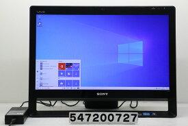 SONY VPCJ249FJ Core i7 2640M 2.8GHz/8GB/2TB/Blu-ray/21.5W/FHD(1920x1080)/Win10 液晶表示難あり【中古】【20200715】