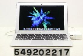 Apple Macbook Air A1465 Mid 2013 Core i5 4250U 1.3GHz/4GB/128GB(SSD)/11.6W/FWXGA(1366x768)【中古】【20200925】