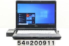 富士通 LIFEBOOK S752/F Core i5 3340M 2.7GHz/4GB/128GB(SSD)/14W/FWXGA(1366x768)/Win10【中古】【20201125】