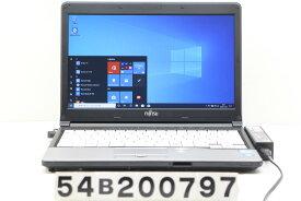 富士通 LIFEBOOK S762/G Core i5 3340M 2.7GHz/4GB/128GB(SSD)/13.3W/FWXGA(1366x768)/Win10【中古】【20201125】