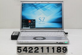 Panasonic CF-SZ6ADYVS Core i3 7100U 2.4GHz/8GB/256GB(SSD)/12.1W/WUXGA(1920x1200)/Win10 液晶枠割れ【中古】【20210219】
