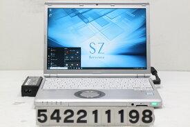 Panasonic CF-SZ6ADYVS Core i3 7100U 2.4GHz/8GB/256GB(SSD)/12.1W/WUXGA(1920x1200)/Win10 液晶右ヒンジ歪み【中古】【20210224】