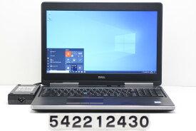 DELL Precision 7520 Xeon E3-1505M v6 3GHz/16GB/256GB(SSD)+1TB/15.6W/FHD/Win10/Quadro M1200 スピーカー音割れ【中古】【20210320】