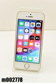白ロム au Apple iPhone5s 16GB iOS12.4.4 Gold ME334J/A 初期化済 【m002778】 【中古】【K20200118】