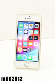 白ロム SoftBank Apple iPhone5s 32GB iOS12.4.4 Gold ME337J/A 初期化済 【m002812】 【中古】【K20200124】