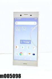 白ロム SIMフリー au SIMロック解除済 SONY Xperia XZ1 64GB Android9 ウォームシルバー SOV36 初期化済 【m005098】 【中古】【K20200814】