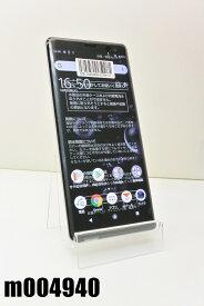 白ロム SIMフリー au SIMロック解除済 SONY Xperia XZ3 64GB Android9 White Silver SOV39 初期化済 【m004940】 【中古】【K20201020】