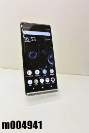 白ロム SIMフリー au SIMロック解除済 SONY Xperia XZ3 64GB Android9 White Silver SOV39 初期化済 【m004941】 【中古】【K20201020】