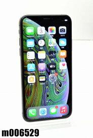 白ロム SIMフリー docomo SIMロック解除済 Apple iPhoneXs 256GB iOS14.2 スペースグレイ MTE02J/A 初期化済 【m006529】 【中古】【K20210104】