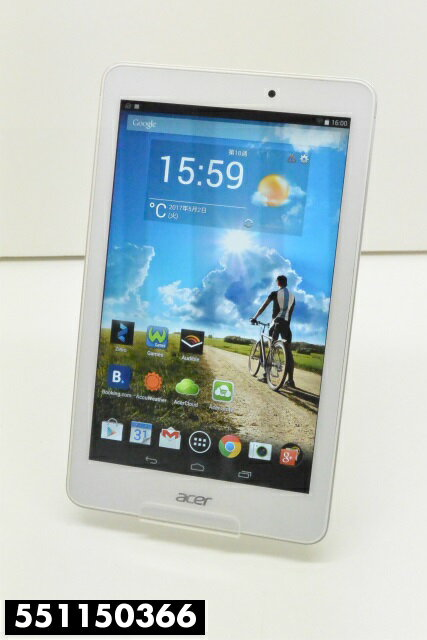 acer A1-840FHD Android4.4.2 16GB Wi-Fiモデル 動作確認済み 初期化済み 【中古】【K20170509】