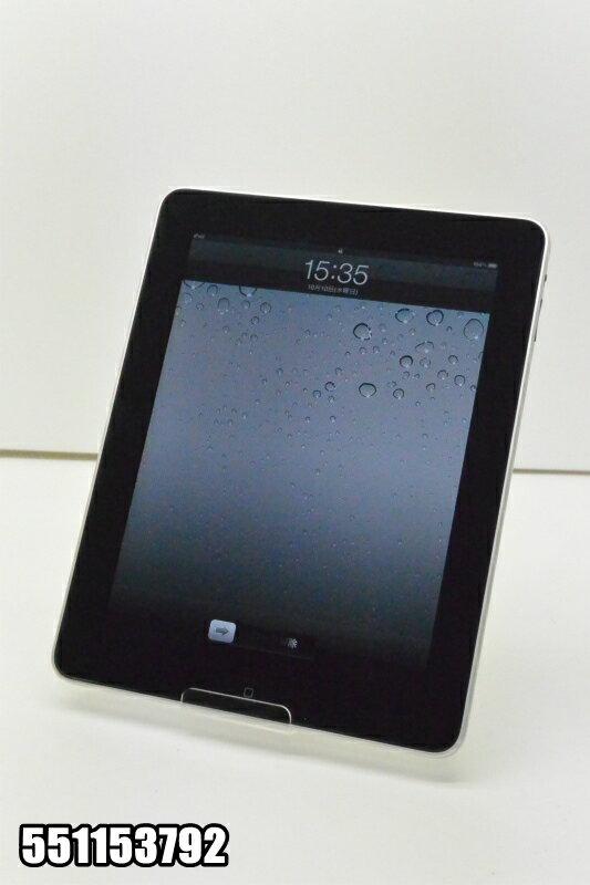Wi-Fiモデル Apple iPad(初代) 16GB iOS5.1.1 シルバー MB292J 初期化済 【551153792】 【中古】【K20181012】