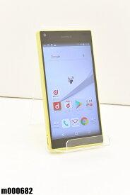 白ロム docomo SONY Xperia Z5 Compact 32GB Android7 イエロー SO-02H 初期化済 【m000682】 【中古】【K20190510】