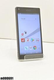 白ロム docomo SONY Xperia Z5 Compact 32GB Android7 グラファイトブラック SO-02H 初期化済 【m000691】 【中古】【K20190510】